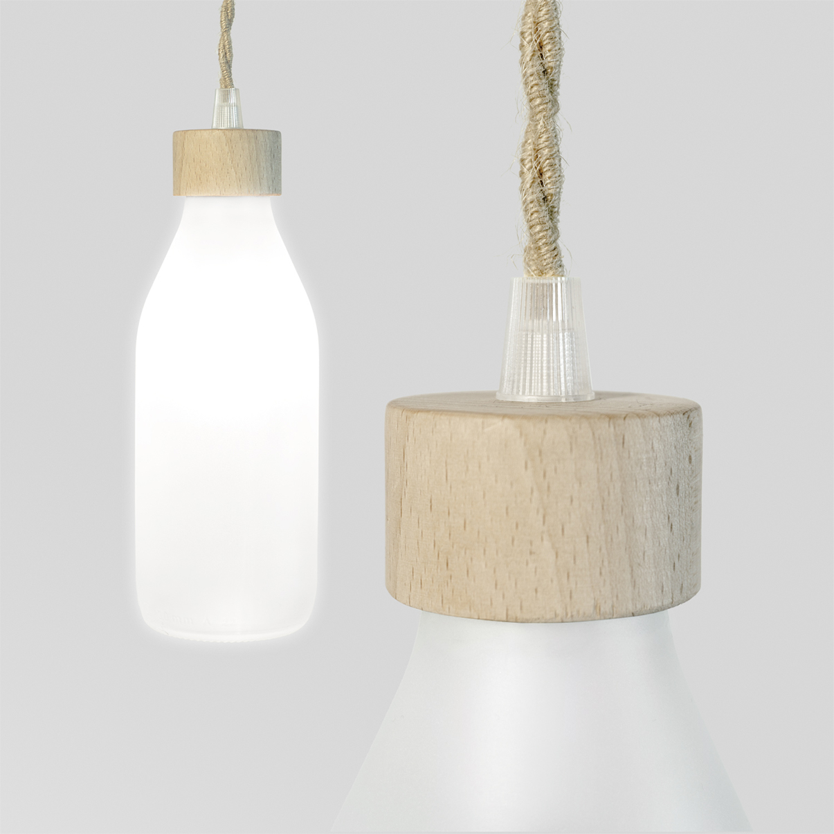Milk Lamp by Emanuele Pangrazi